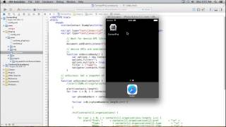 Free Phonegap Video Tutorial 43 - Get All Contact Details based on Mobile Number
