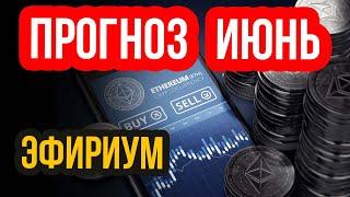 Прогноз криптовалют на ИЮНЬ! Прогноз Эфириум Eth, как ориентир для других криптовалют Btc, Xrp, Bnb