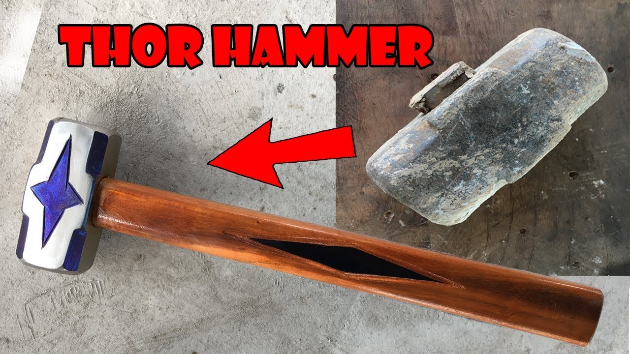 Amazing Antique Hammer Restoration - Restore Metal Old Rusty Hammer