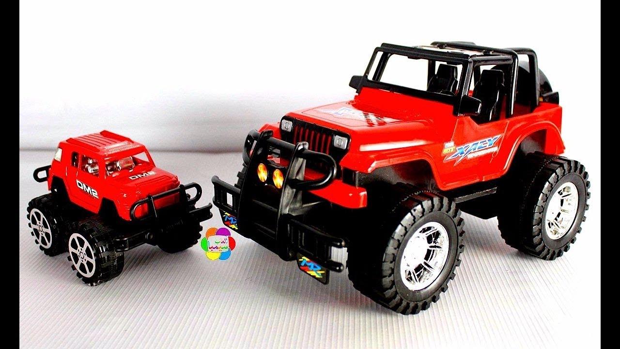 لعبة السيارة الجيب الصغيرة الحقيقية الجديدة للاولاد والبنات اجمل