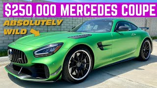The $250,000 Mercedes-Benz AMG GT-R Pro Is The WILDEST Car They Make