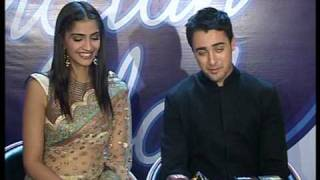Bindaas Bollywood - Bollywood World - Imran Khan and Sonam Kapoor on Indian Idol