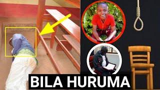 SHUHUDIA MWALIMU ALIYE HUKUMIWA KUNYONGWA ALIVYOANGUKA KIZIMBANI BAADA YA KUSKIA HUKUMU!