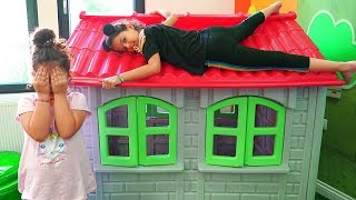 Masal, Öykü and friends Hide and Seek funny for kids video