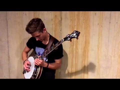 Jonny Shreds Banjo Over Hip-Hop Beat