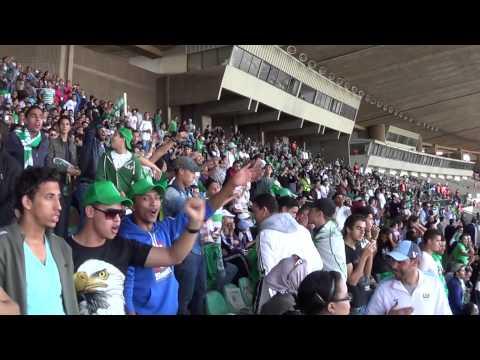 Raja vs Far  1 - 0 du 27-10-2013, Ariba riba Tribune