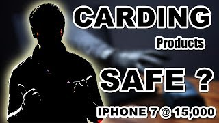 CARDED PRODUCTS SAFE ? | iPhone 7 at 15,000 Rs ? | From Where these devices are coming