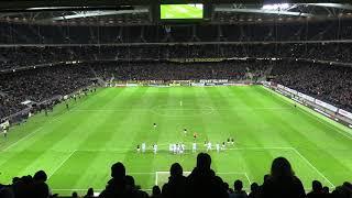 AIK Play: Sebastian Larssons frisparksmål sett från Södra kortsidan