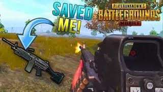 THE M249 SAVED ME! My First FPP Solo Win in PUBG Mobile