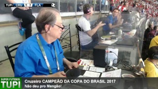 Cruzeiro 5 x 3 Flamengo - Final - Copa do Brasil - 27/09/2017 - AO VIVO