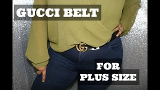 Gucci (Plus Size) Belt Unboxing EPIC FAIL & rant | INFORMATIVE | TRY-ON