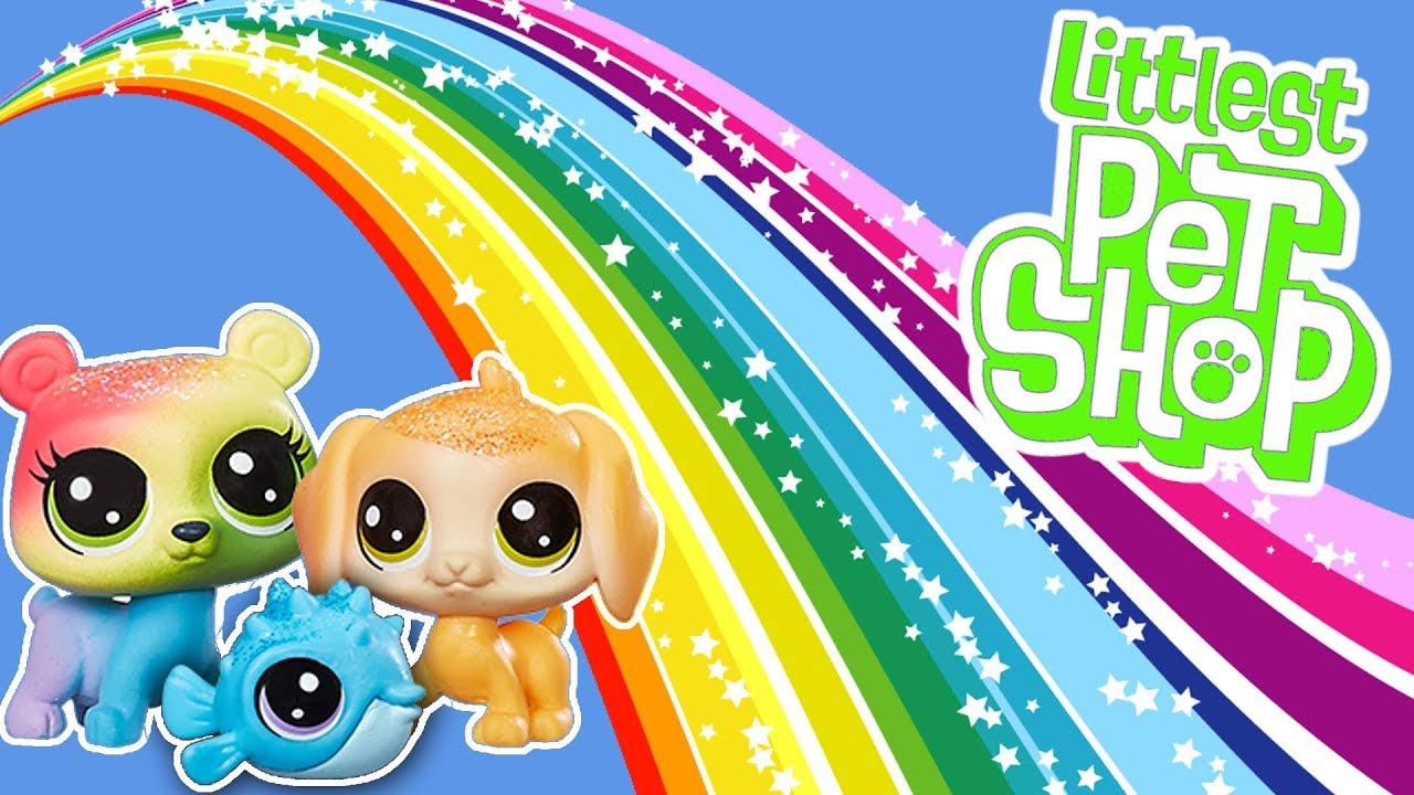 Littlest Pet Shop ???? Mini tęczowe zwierzaki ???? po polsku