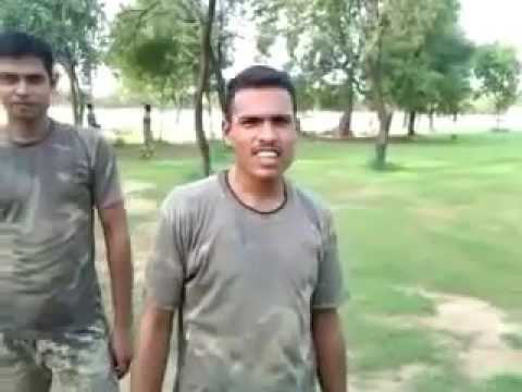 Indian army training