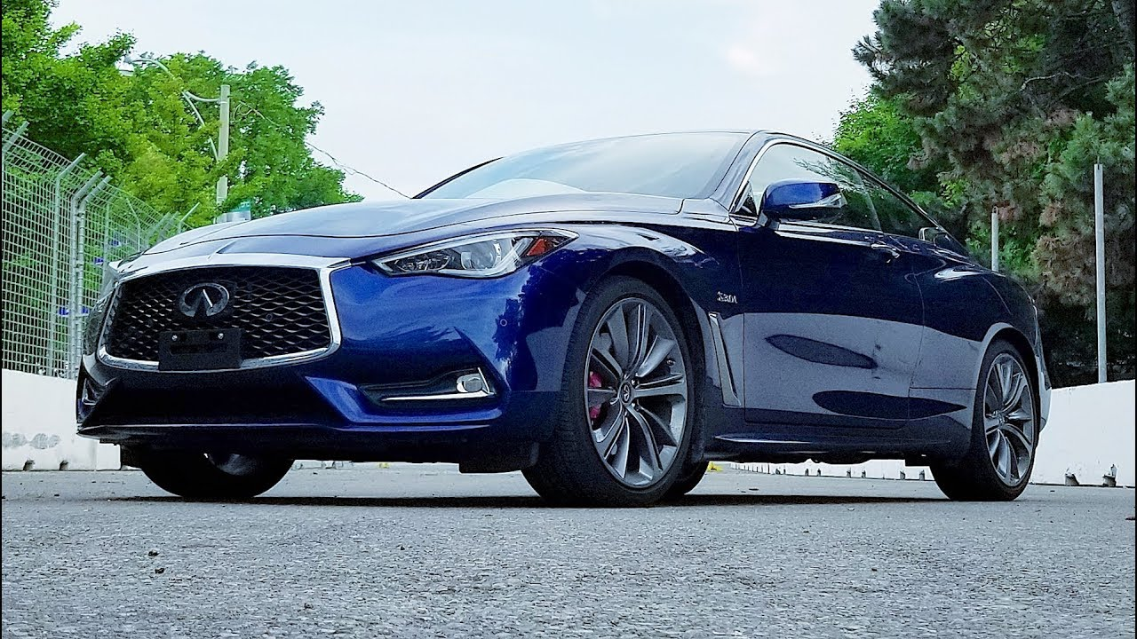 Infiniti Q60 Red Sport Review Youtube