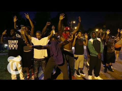 Standoff in Ferguson After Death of Michael Brown | The New York Times