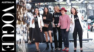 Maddison Brown shops like a Vogue VIP   Vogue American Express Fashion's Night Out   Vogue Australia