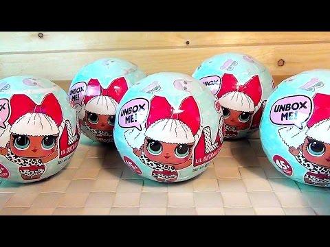Куклы ЛОЛ СЮРПРИЗЫ Малышки меняют цвет, делают пи пи плачут и плюются L.O.L. Surprise Ball Toys Baby