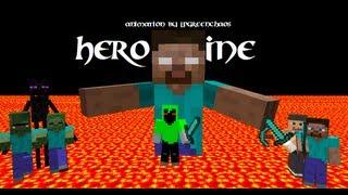 """Herobrine"" - A Minecraft Music Video of Imagine Dragons - Radioactive [Full-HD]"