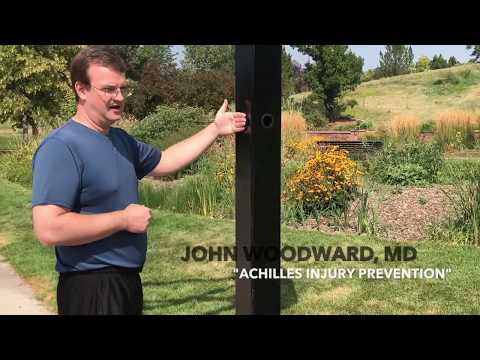 "John Woodward, MD | ""Achilles Injury Prevention"""
