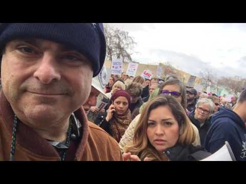 Roseville Feb 4th, 2017 - Anti Trump/ Anti Tom McClintock Protest - Tower Theater Vernon Street