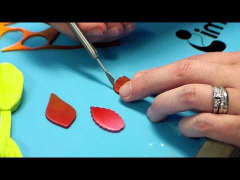Polymer Clay Fall Necklace, Jewelry Tutorial by Katie Oskin at B'sue Boutiques