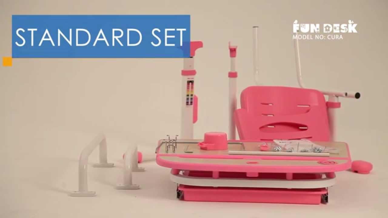 Genius Ergonomic Kids Desk Chair Cura