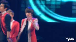 [fancam] 121110 틴탑 - 미치겠어 (니엘중심) TEENTOP Crazy (Niel focus) Thumbnail