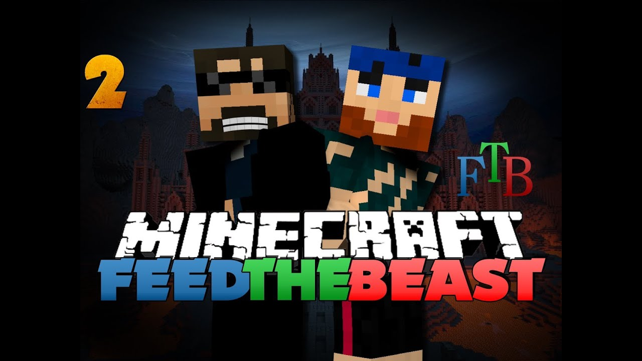 Minecraft Modded Survival - FTB 2 - THE CREEPY SIDEKICK