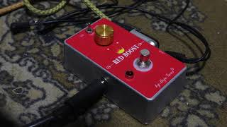 Red Boost / Teble Booster/ Rangemaster by Mojo Gear Fx