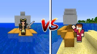 KTO JEST LEPSZYM KAPITANEM - Minecraft Cyfer vs Czoklet