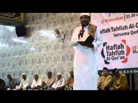 Dr. H. Rusli Hasbi, MA | [Part 1] Ceramah Agama Memperingati Nuzulul Qur'an 17 Ramadhan 1435 H