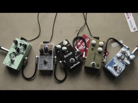 My Top 5 Overdrive Pedals