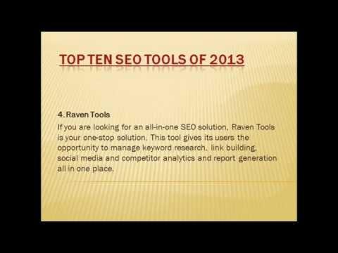 Top 10 SEO Tools 2013