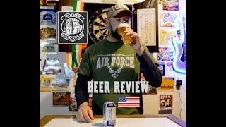 Joseph James American Flyer Lager - Beer Review - Mother Rucker USA - bloopers - Veterans