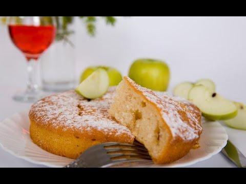 Яблочный пирог с корицей в мультиварке рецепт