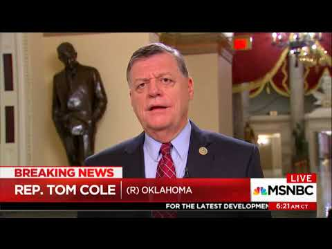 Rep. Tom Cole dismisses concerns about legality of military grade-weapons