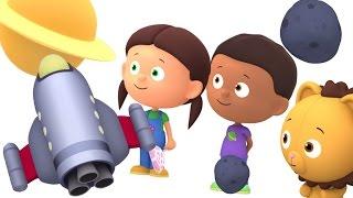 Развивающие мультики. Считаем с Полой. Цифры для детей - Учим цифры. Счет до 7