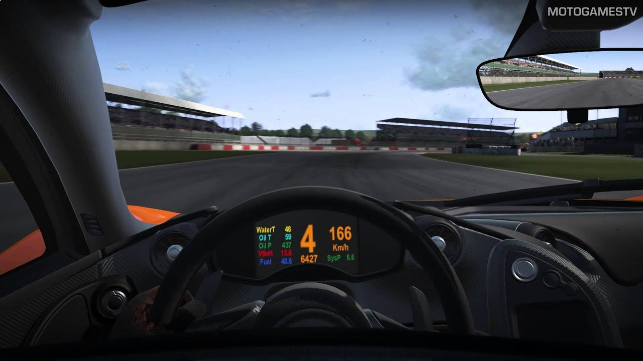 Project cars build 724 mclaren p1 at silverstone youtube - Project cars mclaren p1 ...