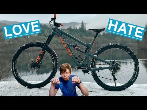 10 Things I LOVE/HATE about my Santacruz Hightower LT