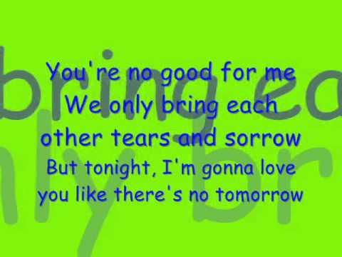 Tomrrow-Chris Young-with lyrics