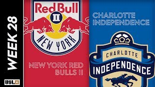 New York Red Bulls II vs. Charlotte Independence: September 13th, 2019
