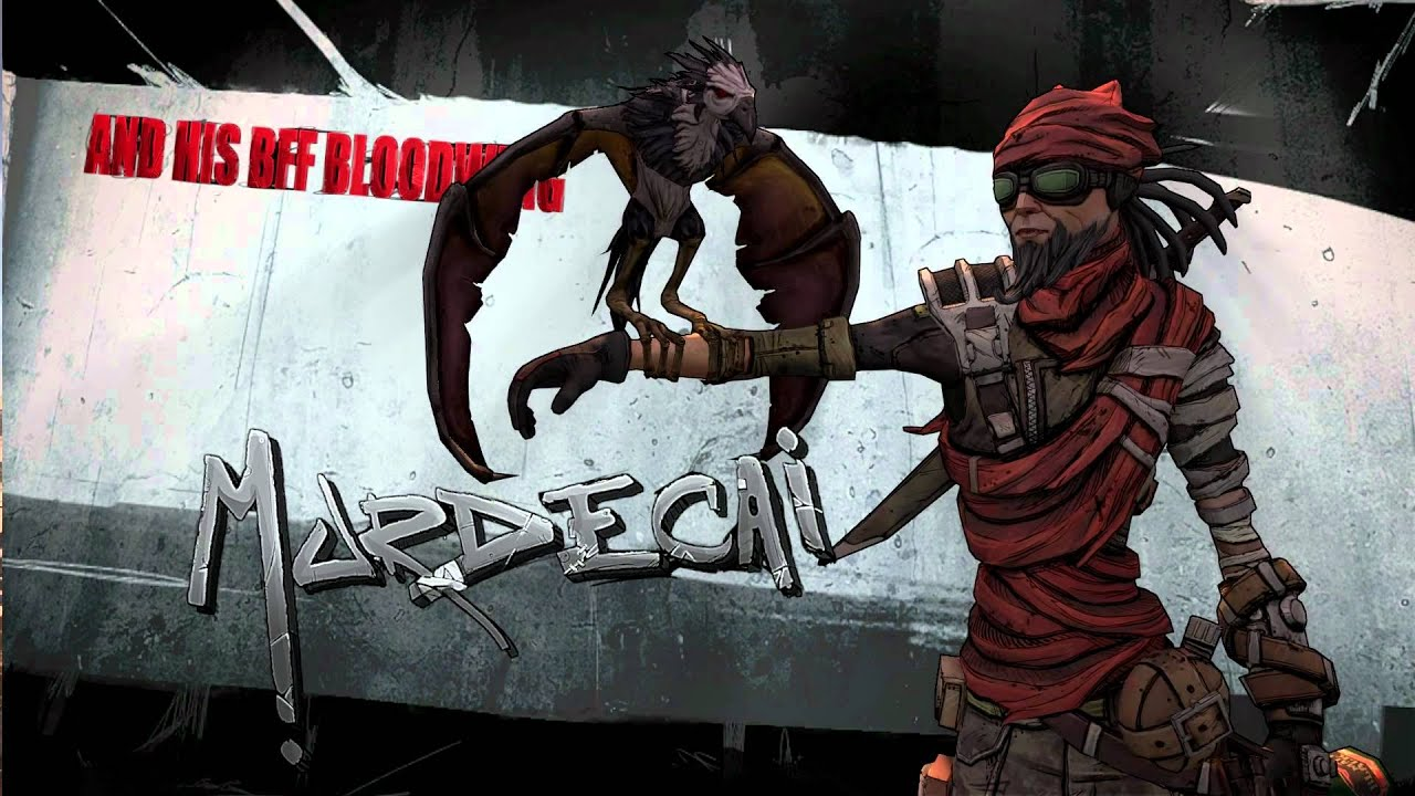 Borderlands 2: Mordecai & his BFF Bloodwing - YouTube Borderlands 2 Bffs
