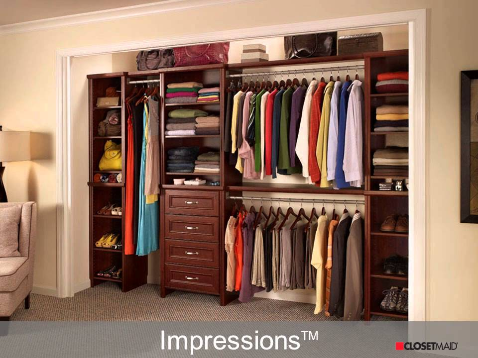 Storage and Organization from ClosetMaid at The Home Depot - YouTube - home depot closet design