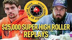 SCOOP 2020 SHR $25,000 CrownUpGuy | O'dwyer | SamRostan Final Table Poker Replays