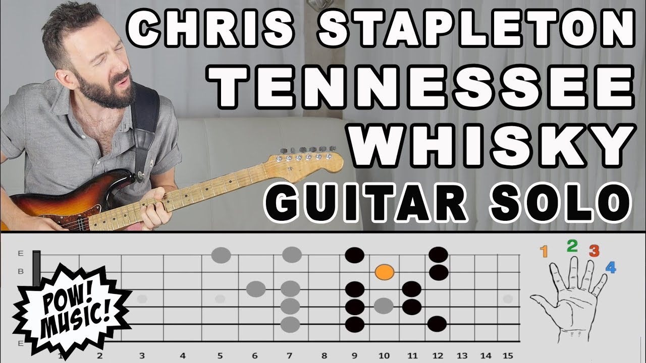 Tennessee Whisky Guitar Solo Lesson Exploration Chris - Musical history guitar solo