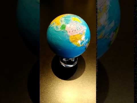 Mysteriously moving globe