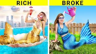 Богатая русалка vs бедная русалка / Смешные ситуации