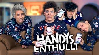 YOUTUBER ENTHÜLLEN IHRE HANDYS mit Julien Bam, Rezo & CrispyRob | Joey's Jungle