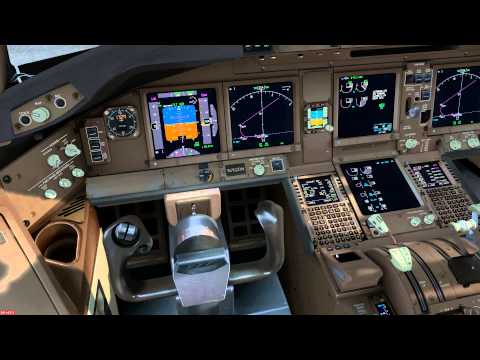 boeing 777 200 preflight part 4 flight deck overhead. Black Bedroom Furniture Sets. Home Design Ideas
