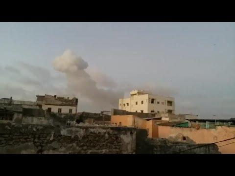Somalia twin bombings kill 18 in Mogadishu